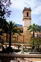 Church of the Asuncion in Denia, Spain.