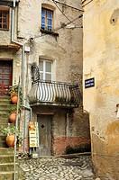 citadel, Corte, Corsica, France.