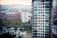 Residential Building, Diagonal Mar, Barcelona, Catalonia, Spain