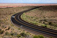 Painted Desert National Park, Arizona, USA.