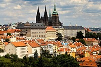 St.Vitus Cathedral and Castle of Prague, Czech Republic