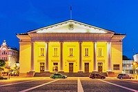 The Town Hall of Vilnius is located in the old town of Vilnius. The present building dates from the 18th century and was built in Classicist style by ...