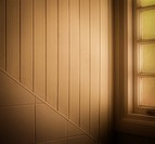 Looking towards an attic window . . .