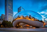Cloud Gate is a public sculpture by Indian-born British artist Anish Kapoor, that is the centerpiece of AT&T Plaza at Millennium Park in the Loop comm...