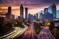 Atlanta is the capital and most populous city in the U. S. state of Georgia. Atlanta's population is 545,225. Atlanta is the cultural and economic cen...