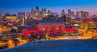 Kansas City (often referred to as K. C. ) is the most populous city in the U. S. state of Missouri. In 2010, it had a population of 459,787, which had...