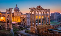 The Roman Forum, also known by its original Latin designation Forum Romanum, is located between the Palatine Hill and the Capitoline Hill of the city ...