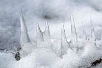 icicles, Finland.