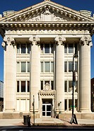 Agricultural National Bank (1908, Greek Revival), Pittsfield, Berkshire Hills, Massachusetts, USA