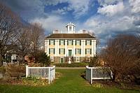 Shirley Eustis House (1741, attributed to architect Peter Harrison, Georgian style), Roxbury, Massachusetts, USA
