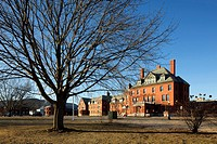 Vermont State Hospital mental asylum an prison, Waterbury, Vermont, USA