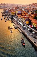 Cais da Ribeira, Porto, Portugal.