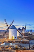 Windmills of Consuegra. Don Quixote route. Toledo. Castile-La Mancha. Spain.