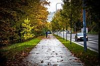 Westlake Avenue, Seattle, Washington.