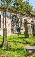 Nikolaikirchhof Graveyard, also known as Nikolaifriedhof, Goerlitz, Saxony, Germany.