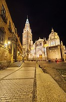 The Primate Cathedral of Saint Mary of Toledo. Toledo. Spain.
