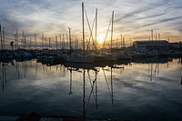 Port Balis, marina in the heart of the coast of Barcelona.