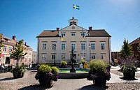 Town hall Vimmerby, Sweden.