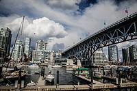 Granville Island, Vancouver, British Columbia.