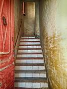 Stairs. Caldes d´Estrac, Maresme, Barcelona province, Catalonia, Spain