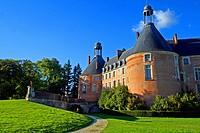 Castle of Saint-Fargeau, France
