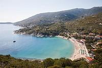 Europe, Italy, Tuscany, Elba Island, Cavoli beach, landscape.