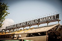 Granville Island Public Market, Vancouver, BC, Canada