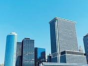 New York City, Manhattan, Skyline, USA
