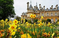 Gardens. Waddesdon Manor. Buckinghamshire. England.