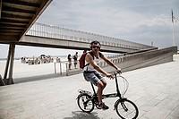 Barceloneta cycling time.