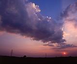 Poland. Landscape near the Belchatow power plant