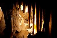 Postojna cave in Slovenia.