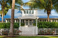 Historic 'Bones Cottage' b. 1921, Naples, Florida, USA.