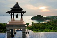 Pool, luxury hotel Pimalai Resort, Kantiang Beach, Ko Lanta or Koh Lanta island, Krabi, Thailand, Asia. Pimalai Resort & Spa is a luxury beach resort ...