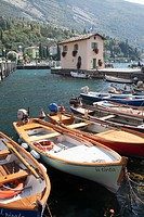 Boats in Riva del Garda