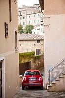 Small italian street. Tuscany, Italy