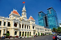 Ho Chi Minh City Hall, Vietnam.