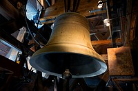 Huge bell Emmanuel of Notre Dame de Paris, France.