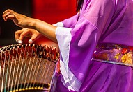 The guzheng, also known as the Chinese zither, is a Chinese plucked string instrument with a more than 2,500-year history. It has 16 (or more) strings...