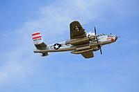 B25 WW2 bomber aircraft.