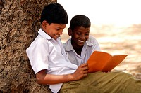 School Children, Saiapet Model Government School. Chennai (Madras), Tamil Nadu, South India, Asia.