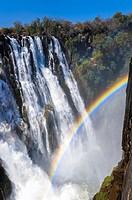 Victoria Falls (Mosi-o-Tunya), Africa.