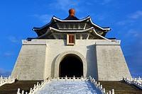The National Chiang Kai Shek Memorial Hall in Taipei, Taiwan.