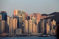 China, Hong Kong, Causeway Bay, skyline,.
