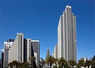 Skyscraper in San Francisco, California, United States.