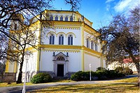 Church of the Assumption of Virgin Mary, Marianske Lazne - Marienbad, a spa town, West Bohemia, Czech Republic, Europe