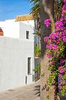 Vejer de la Frontera, White Towns of Andalusia, Pueblos Blancos, province of Cádiz, Spain.
