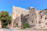 Bahla Fort, Oman, Middle East, Asia.