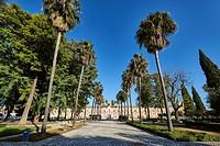 Parlamento de Andalucia (Andalusian Parliament) (Ancient Hospital de las Cinco Llagas de Nuestro Redentor), Sevilla, Andalusia, Spain, Europe.