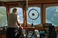 Cruise from Flåm to Gudvangen, Aurlandsfjorden and Nærøyfjord (UNESCO World heritage Site), branches of Sognefjorden, Sogn og Fjordane, Fjords, Norway